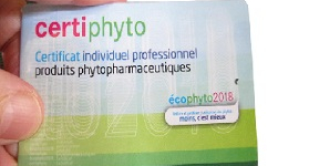 Certiphyto renouvellement 2019, 2020, 2021